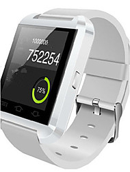 Women's Men's Smart Watch Digital Rubber Band Black White Red