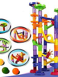 baratos -Labirinto Pistas para Bolinhas de Gude Pista para Bolinha de Gude Modelo e Blocos de Construção Brinquedos 3D Plásticos Crianças Dom