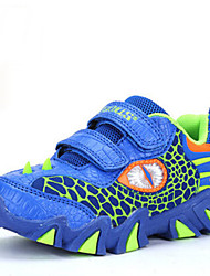 Boys' Sneakers Comfort Fall Winter Cowhide Casual Animal Print Flat Heel Navy Blue Royal Blue Flat