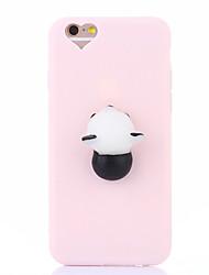billige -Taske til iphone 7 plus 7 squishy diy stress relief tilfælde bag cover case sød 3d tegneserie blød tpu sag til iphone 6 6s 6 plus 6s plus