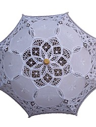 Vintage Handmade Embroidery Lace Wedding Umbrella Princess Parasols Photography Prop Decoration