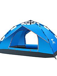 baratos -3-4 Pessoas Tenda Duplo Barraca de acampamento Um Quarto Tenda Automática Á Prova de Humidade Prova-de-Água Portátil para Acampar e