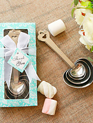 cheap -Measuring Spoons Wedding Favors Beter Gifts® DIY Party Keepsakes