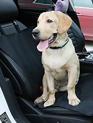 Gato Cachorro Cobertura de Cadeira Automotiva Animais de Estimação Transportadores Prova-de-Água Portátil Dobrável Sólido Preto
