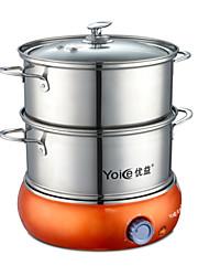 Cucina Acciaio Inox 220V POT multiuso Steamers alimentari