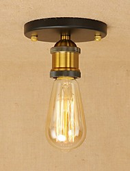 cheap -vintage Loft Metal Ceiling lamp Flush Mount Hallway Dining Room Bedroom Kitchen Antique lamp