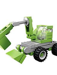 cheap -Building Blocks Excavator Toys Excavating Machinery Plastics Unisex Boys Pieces