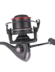 cheap -Fishing Reel Trolling Reel Spinning Reel 4.1:1 Gear Ratio+13 Ball Bearings Hand Orientation Exchangable Sea Fishing Spinning Jigging