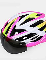 Недорогие -Подростки Велоспорт шлем Вентиляционные клапаны Велоспорт Горные велосипеды Велосипедный спорт Стандартный размер
