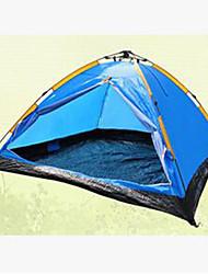 3-4 persone Tenda Singolo Tenda da campeggio Tenda ripiegabile Tenere al caldo per Satin elastico Tessuto imbottito CM
