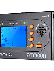 Ammoon AMT-01GB Multifunctional 3in1 Digital Tuner  Metronome  Tone Generator Universal Portable for Chromatic Guitar Bass Violin
