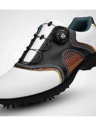 abordables -Chaussures de Golf Homme Golf Vestimentaire Respirable Entraînement Pour tous les jours Sport extérieur Utilisation Exercice Sportif Cuir