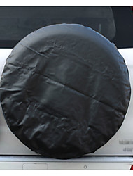 cheap -PVC Leather Spare Tire Cover Wheel Tire Cover black with no logo universal for Jeep CR-V RV SUV trailer truck R14-R15-R16-R17 Tire