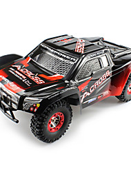 abordables -Coche de radiocontrol  WL Toys 12423 2.4G Truggy Off Road Car Alta Velocidad 4WD Drift Car Buggy Escalada de coches 1:12 Brush Eléctrico