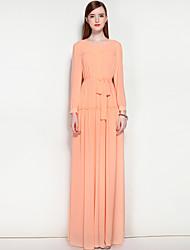 cheap -Mary Yan & Yu Women's Work Street chic Swing Dress - Solid Colored Maxi