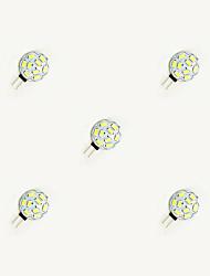 1.5W G4 Luminárias de LED  Duplo-Pin 9 leds SMD 5630 Branco Quente Branco 160lm 3000-3500/6000-6500K DC 12V