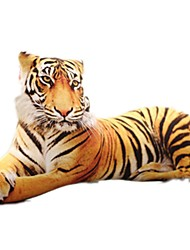Stuffed Toys Sleeping Back Cushion Stuffed Pillow Toys Dog Tiger 3D Animals Simulation Unisex Pieces