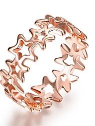 preiswerte -Damen Ring Schmuck Personalisiert Luxus Geometrisch Einzigartiges Design Tattoo Stil Retro Strass Böhmische Grundlegend Herz Natur