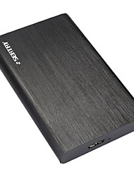 Shuo Li Tai (SEATAY) HDS2170 2.5 inch aluminum mobile hard disk box SATA serial port notebook USB3.0 mobile hard disk box external box black