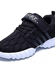 cheap -Boys' Athletic Shoes Comfort Light Soles Spring Fall PU Walking Shoes Athletic Lace-up Flat Heel Black Ruby Blue Flat