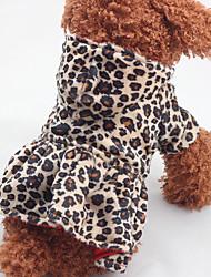 Hund Kleider Hundekleidung Lässig/Alltäglich Leopardenmuster Leopard