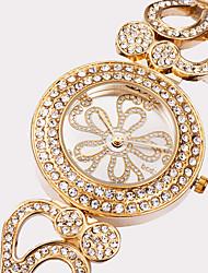 levne -ASJ Dámské Módní hodinky Náramkové hodinky japonština Křemenný Voděodolné Velký ciferník Nerez Slitina Kapela Stříbro Zlatá Růžové zlato