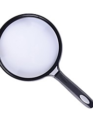 OJADE 5.5 Inch 2.5X Extra Large Document Magnifying Glass for Reading --1 pcs