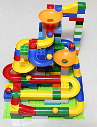 cheap -Balls Marble Track Set Marble Run Toys 3D Plastics High Quality 1 Pieces Kids Christmas Children's Day Gift