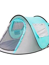 economico -3-4 persone Tenda Singolo Tenda da campeggio Una camera Pop up tenda Caldo Ompermeabile Anti-pioggia Tenda Protezione solare per