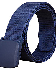 cheap -Men's Alloy Waist Belt,Black Army Green Royal Blue Office/Business Solid Pure Color