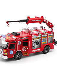Toy Cars Toys Construction Vehicle Fire Engine Vehicle Toys Truck Plastics Metal Alloy Metal Pieces Unisex Gift