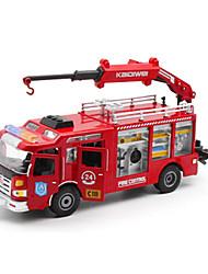 Spielzeugautos Spielzeuge Baustellenfahrzeuge Feuerwehrauto Spielzeuge LKW Kunststoff Metalllegierung Metal Stücke Unisex Geschenk