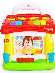 Недорогие -HUILE TOYS Аксессуары для кукольного домика Игрушка для обучения чтению Обучающая игрушка Пластик Детские Дети Мальчики Игрушки Подарок