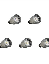 cheap -7W GU10 LED Spotlight 1 leds COB Dimmable Warm White Cold White 780lm 3000K AC 110/220V