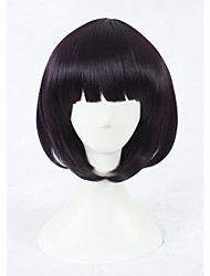 preiswerte -Damen Synthetische Perücken Kurz Lila Cosplay Perücke Kostümperücke