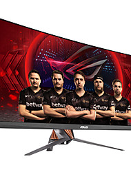 Asus rog schnell geschwungene gaming computer monitor 34 inch 21: 9 ultra-wide qhd (3440x1440) overclockable 100hz g-sync