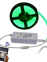 cheap -5m RGB Strip Lights 300 LEDs 5050 SMD Remote Control / RC / Cuttable / Dimmable 100-240 V / IP65 / Waterproof