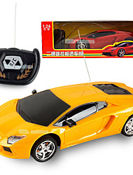 cheap -RC Car LBGN 2 Channel 2.4G Car High Speed Racing Car 1:24 Brushless Electric 50 KM/H Remote Control Rechargeable Electric