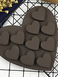 Cake Molds Novelty Heart-Shaped Cooking Utensils Cake For Chocolate Silica Gel Baking Tool DIY High Quality Novelty
