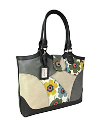 Women Bags All Seasons Cowhide Shoulder Bag with for Casual Light Gray