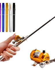 cheap -Fishing Rod + Reel Ice Fishing Reel Fishing Rod Fishing Reel Mini Rod / Pen Rod Pen Rod Bait Casting Ice Fishing Freshwater Fishing