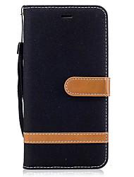 economico -Per huawei p9 lite p8 lite 2017 portafoglio portabicchiere con custodia per carte da parati con telaio completo cassa in pelle solida