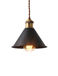 cheap -Vintage Pendant Lights Industrial 1-light Metal Dining Room Hallway Kitchen Cafe Bars Lighting