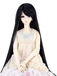 billige -Syntetiske parykker Lige Massefylde Dame Doll Wig Syntetisk hår