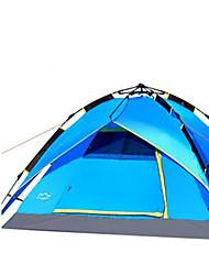3-4 Pessoas Tenda Duplo Barraca de acampamento Tenda Automática Manter Quente Á Prova-de-Pó para Acampar e Caminhar Outros Material CM