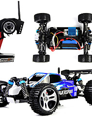 cheap -RC Car WL Toys A959 2.4G 4WD High Speed Drift Car Off Road Car Buggy (Off-road) 1:18 Brush Electric 45 KM/H Remote Control / RC
