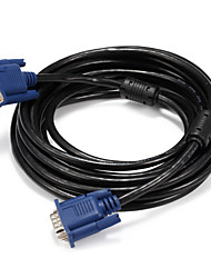 cheap -VGA Connect Cable, VGA to VGA Connect Cable Male - Male 5.0m(16Ft)