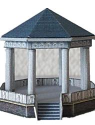 economico -Kit fai-da-te Puzzle 3D Modellino di carta Giocattoli Edificio famoso 3D Fai da te Non specificato Unisex Pezzi