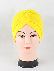 cheap -Women's Cotton Beanie Floppy Hat Headwear Cute Casual Chic & Modern Daily Knitwear Hats Solid Spring Fall Pure Color Black/Red/Yellow