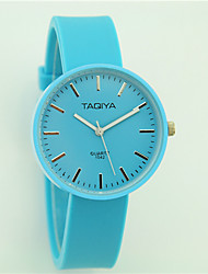 Women's Fashion Watch Casual Watch Quartz Silicone Band Casual